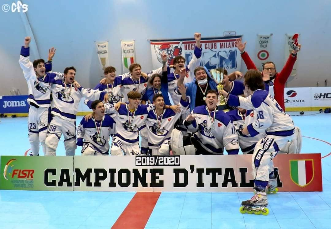 LO SCUDETTO UNDER 18 CAMBIA LATITUDINE: VINCE LA CV SKATING